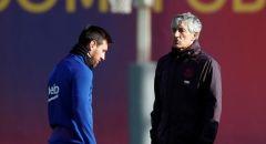 مدرب برشلونة يعول على تعثر ريال مدريد