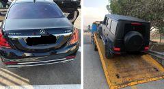 سلطة الضرائب تصادر ثلاث سيارات فاخرة لمواطن من رهط يدين بضريبة تبلغ حوالي 10 ملايين  شيكل