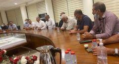 اجتماع في بلدية سخنين لبحث حيثيات القانون المساعد واقامة لجنة مهنية لفحصه