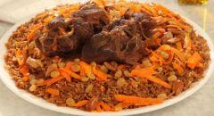 طريقة عمل الأرز البخاري مع منال العالم ونيكول سابا