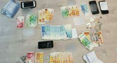 اعتقال 5 مشتبهين من اللد وشفاعمرو وتل ابيب بعد ضبط نقود مزيفة