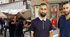 باقة الغربية تشييع جثماني الشقيقين شافع وصلاح ابو حسين ضحيتا جريمة القتل