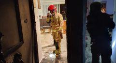 نهاريا: 4 اصابات وتخليص عالقين جراء حريق شب في مبنى سكني