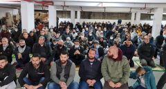 الحراك الفحماوي مستمر للأسبوع الثاني العشر على التوالي: صلاة جمعة حاشدة ومظاهرة احتجاجًا على العنف والجريمة