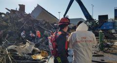 أشدود: انفجار في مصنع لتكرير وتصنيع الحديد يسفر عن مصرع شخصين وإصابة اخرين