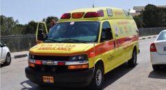 إصابة حرجة لرجل (42 عامًا) بحادث طرق قرب كريات بيالك