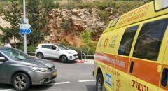 مصرع سيّدة إثر حادث ذاتي خلال ركوبها دراجة هوائية على شارع 375 في منطقة القدس