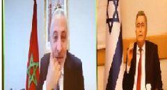 عمير بيرتس، تحدث مع نظيره المغربي الوزير مولاي حفيظ العلمي
