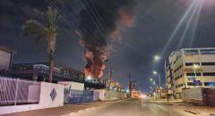 ام الفحم: اندلاع حريق في مبنى مهجور داخل حي سكني
