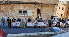 عرابة : وقفة تضامنية ضد تهويد جزء من مقبرة الصّدّيق