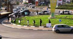 ام الفحم  ,, وقفة احتجاجية للطلاب للمطالبة بعودتهم للمدارس