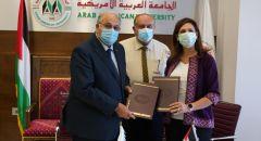 توقيع اتفاقية تعاون بين الجامعة العربية الأمريكية والجهاز المركزي للإحصاء الفلسطيني