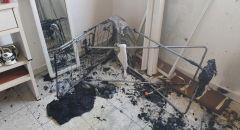 اندلاع حريق داخل مبنى سكني في بئر السبع: انقاذ طفلين عالقين في المكان