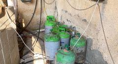 بسمة طبعون : ضبط عشرات أسطوانات الغاز غير القانونية واعتقال مشتبه