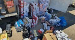 اعتقال رجل من مجد الكروم بعد ضبط علب سجائر ومنتجات تبغ  غير قانونية في محل تجاري