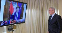 رئيس الوزراء نتنياهو يشارك في مؤتمر دولي بحث التعامل مع فيروس كورونا