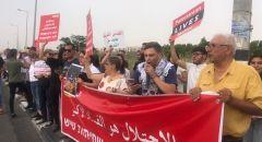 """""""حراك المثلث من أجل القدس"""" ينظم تظاهرة تضامنيّة مع القدس"""