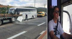 مصرع سائق الحافلة ناصر محاميد من ام الفحم بحادث طرق بالقرب من مفرق عرعرة