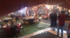 بالفيديو: الشرطة تفرق حفلات اعراس في الطيبة وقلنسوة اقيمت مخالفة للتعليمات