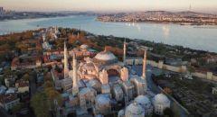 اليوم :لأول مره إقامة صلاة الجمعة في آيا صوفيا بعد عودته إلى مسجد مجددا