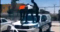 الشرطة تعتقل 3 قاصرين بعد نشر فيديو تيك توك بادعاء إلحاق الضرر بسيارة شرطة في رهط