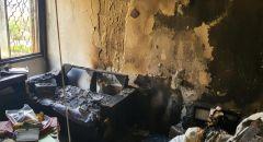 إصابة خطيرة لشابة اثر حريق بشقة سكنية في بئر السبع
