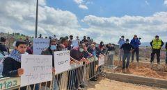 الجش: تظاهرة احتجاجية على زيارة نتنياهو للبلدة