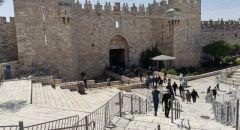 رفع حالة التأهب لدى الشرطة الإسرائيلية  استعدادا لصلاة الجمعة الثالثة من رمضان