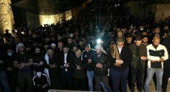 جماهير غفيرة بتشيع جثمان الشاب اياد الحلاق بعد مقتله برصاص الشرطة