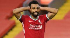 """""""هاتريك"""" محمد صلاح يقود ليفربول لفوز مثير على ليدز بالبريميرليج."""