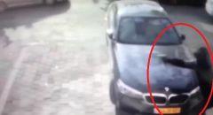 توثيق بالفيديو سطو مسلح على محل للصرافة والسرقة في كفر قاسم
