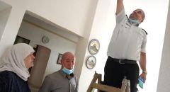 وادي عارة: تركيب أجهزة كشف الدخان في منازل مسنين بتعاون بين سلطة الاطفاء والإنقاذ والسلطات المحلية
