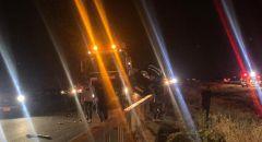 مصرع سيدة اثر حادث طرق مروع على شارع 6