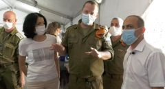 """جامزو في لقاء مع الوحدة الحربية """"ألون"""" التابعة للجبهة الداخلية المكلّفة بمهمة قطع سلسلة العدوى"""