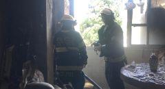 اندلاع حريق بشقة سكنية في عكا