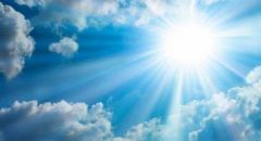 حالة الطقس: اجواء صيفية وحارة