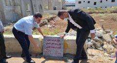 كفر مندا: وضع حجر الأساس لمشروع بناء مجمع روضات غربي القرية