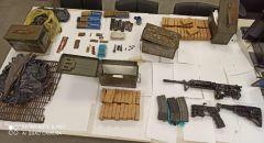 كابول: ضبط كميات كبيرة من الاسلحة والذخيرة