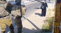 اطلاق النار على مشتبهة بمحاولة تنفيذ عملية طعن قرب بيت لحم