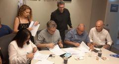 التوقيع على اتفاقيتي اصلاح إضافية في إل-عال فجر اليوم تشملان قسمي الصيانة والهندسة