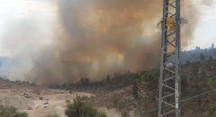 اندلاع حرائق كبيرة في مختلف أنحاء البلاد - سلطة الاطفاء تحذّر وتناشد المواطنين بعدم اشعال النيران