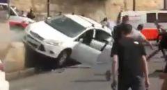 دهس شبان عرب في باب الاسباط بالقدس واصابات متفاوته