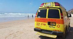 حالة خطيرة لسيدة اثر تعرضها للغرق في حيفا