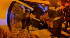 حيفا: اصابات متفاوتة جراء انقلاب سيارة