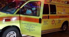 الناصرة : إصابة فتى بجراح في الرأس اثر تعرضه للدهس