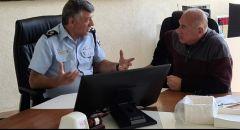 جلسة عمل بين قائد لواء الساحل وئيس المجلس المحلي عسفيا