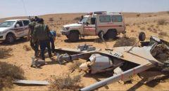 """إسقاط طائرة مسيرة تابعة للـ""""الحوثيين"""" من قبل القوات اليمنية"""