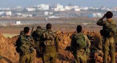 العثور على حقل للعبوات الناسفة قرب الحدود الاسرائيلية السورية , غانتس: سنرد بشدة