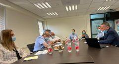 النواب الطيبي والسعدي وسندس صالح في جلسة عمل مع وزير العلوم
