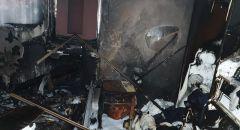 اندلاع حريق داخل منزل في ريشون لتسيون